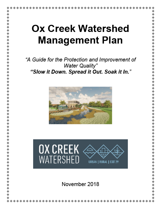 Final Ox Creek Plan Brochure Cover