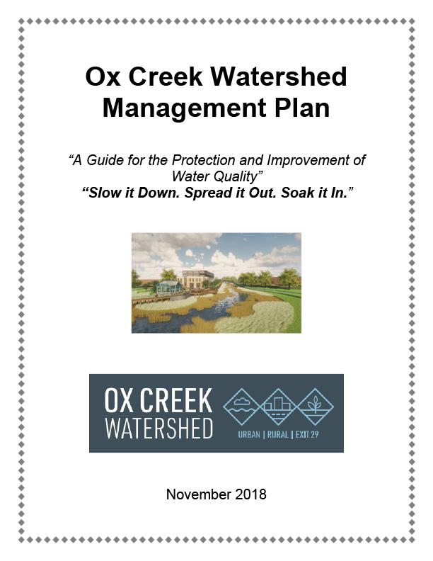 Final Ox Creek Plan Brochure Cover
