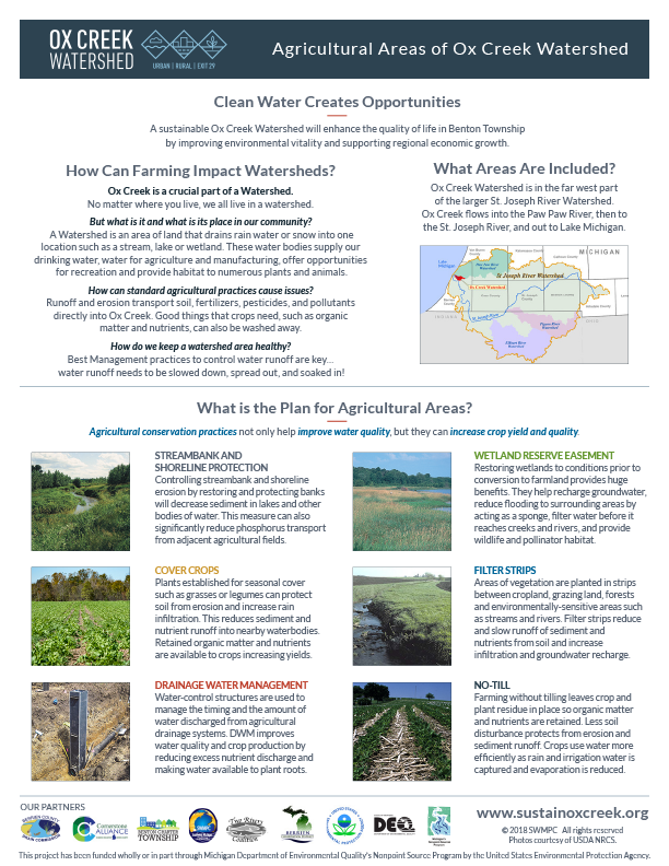 Ox Creek Agricultural Brochure Cover